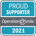 Proud Supporter Badge Blue