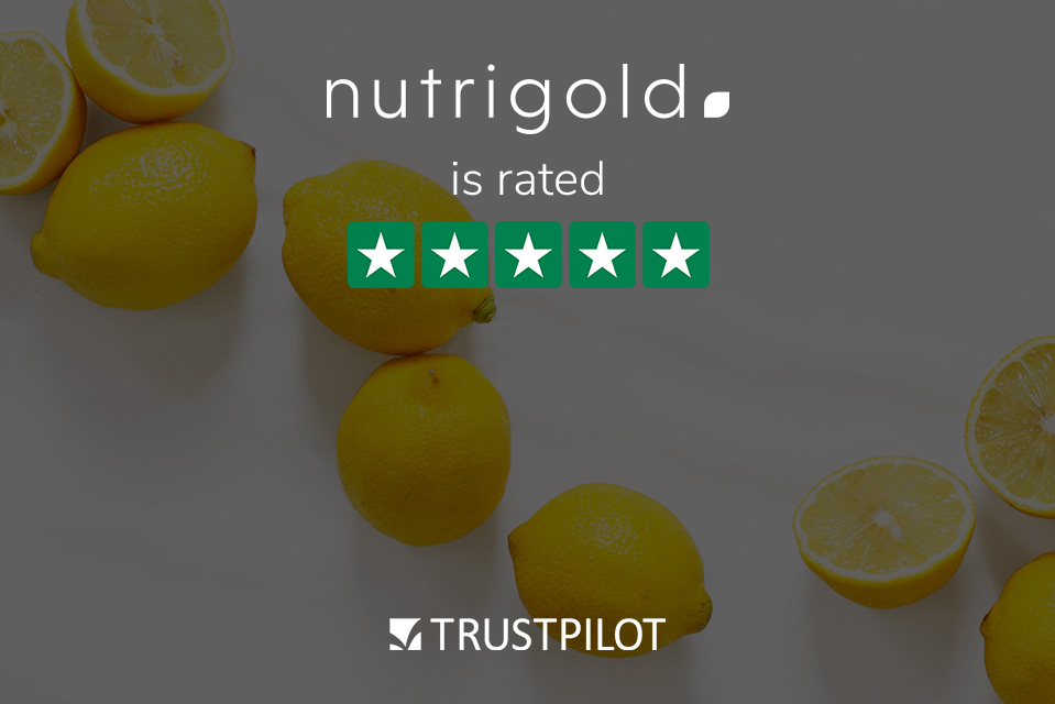 Nutrigold is rated with 5 stars in Trust Pilot